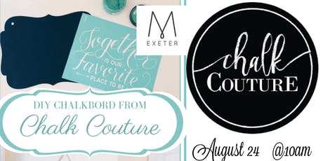 MOPS Chalk Couture Fundraiser tickets