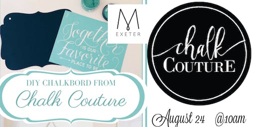 MOPS Chalk Couture Fundraiser