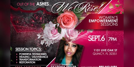 """""""Out Of The Ashes We Rise"""" tickets"""