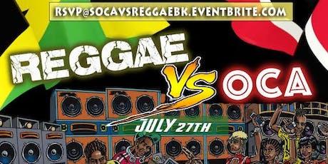 Reggae vs Soca Party tickets