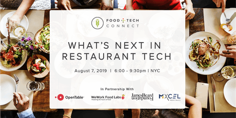 What's Next in Restaurant Tech tickets