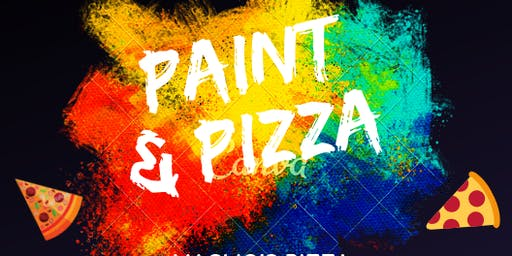 Paint and Pizza- Family Fun