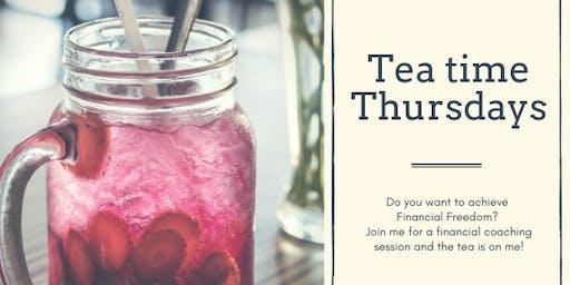 Tea time Thursdays Financial Coaching