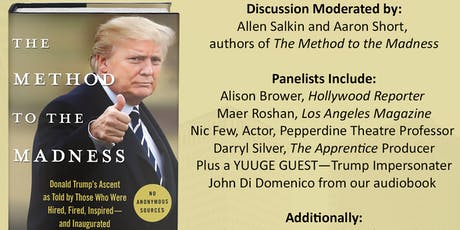 Method to the Madness Book Panel at Ace Hotel DTLA tickets