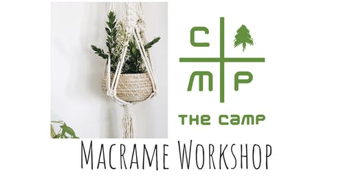 Macrame Workshop at The Treehouse in The Camp