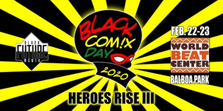 Black Comix Day 2020: Heroes Rise III tickets