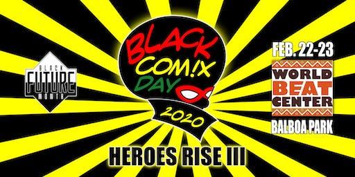 Black Comix Day 2020: Heroes Rise III