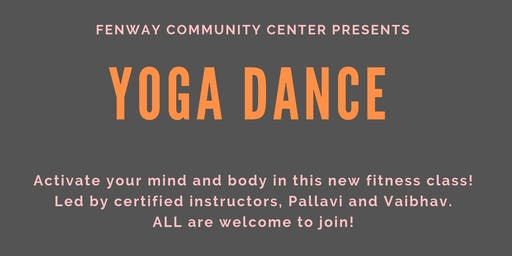 Yoga Dance at Fenway Community Center