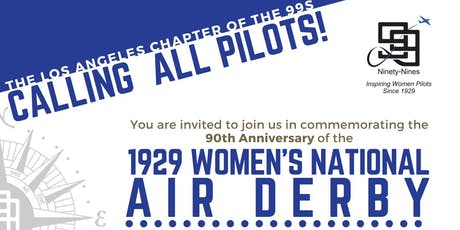 90th Anniversary - Women's National Air Derby tickets