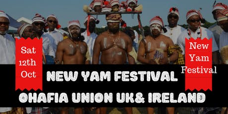 Ohafia New Yam Festival and Fund Raising Event tickets