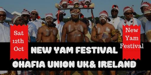 Ohafia New Yam Festival and Fund Raising Event