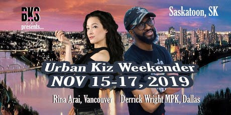Urban Kiz Weender with Rina & Derrick tickets