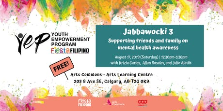 YEP- Jabbawocki (Part 3): Supporting friends and family on mental health awareness tickets