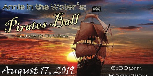 Annie in the Water's: Pirates Ball Boat Cruise
