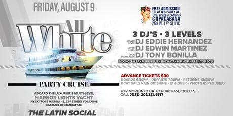 All White Party Cruise tickets