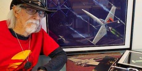 Star Wars 1st ship builder - free meet & greet tickets