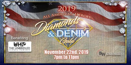 2019 All American Heroes Diamonds and Denim Gala tickets