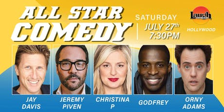 Jeremy Piven, Godfrey, and more - All-Star Comedy! tickets