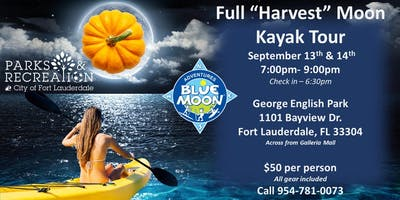 "Full ""Harvest"" Moon Paddle Party"