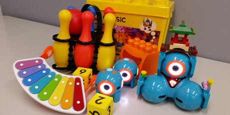Dot and Dash Fun - Ages 5 - 8 @ Kingston Library tickets