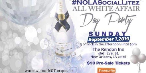 Gentlemen of NOLASocialLitez presents All White Day Party (Labor Day Weeken