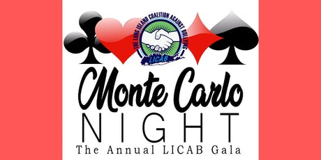 The Annual LICAB Gala - A Monte Carlo Evening tickets