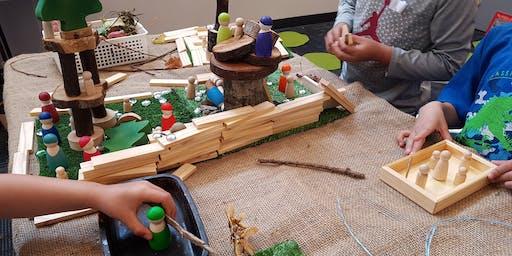 Loose Parts Play: Story Workshop