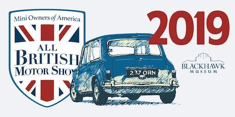 2019 MOASF - Blackhawk All British Motor Show tickets