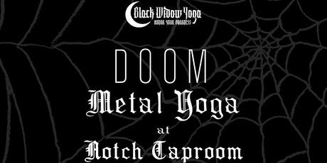 DOOM Metal Yoga at Notch Taproom tickets