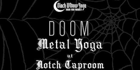 DOOM Metal Yoga at Notch Taproom tickets