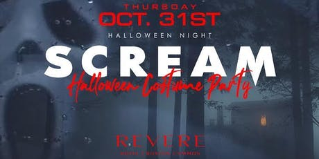 SCREAM Halloween Costume Party @ Revere Hotel Boston  tickets