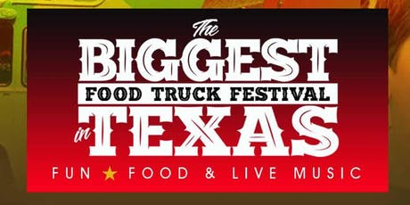 The Biggest Food Truck Festival in Texas tickets