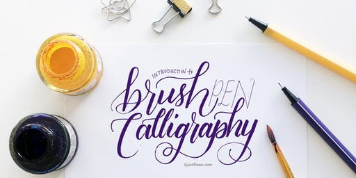 Calligraphy with Brush Pen: Lettering for Self-Care & Social Impact [Vancouver Calligraphy Workshop]