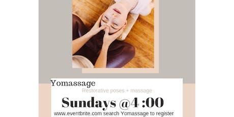 Yomassage tickets