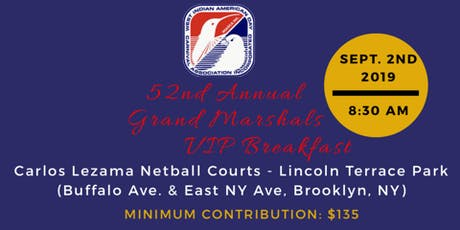 WIADCA Grand Marshals VIP Breakfast 2019 tickets