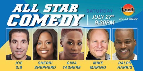 Gina Yashere, Sherri Shepherd and more - Special Event: All-Star Comedy tickets