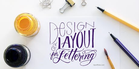 Calligraphy Design & Layout w/ Faux Lettering: Vancouver Workshop tickets