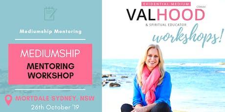 Sydney Mediumship Mentoring Workshop - 26th October tickets