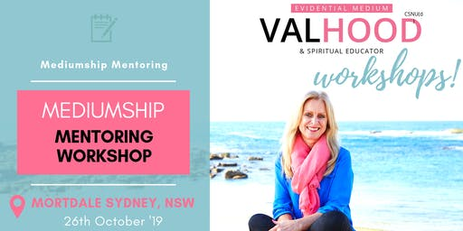 Sydney Mediumship Mentoring Workshop - 26th October