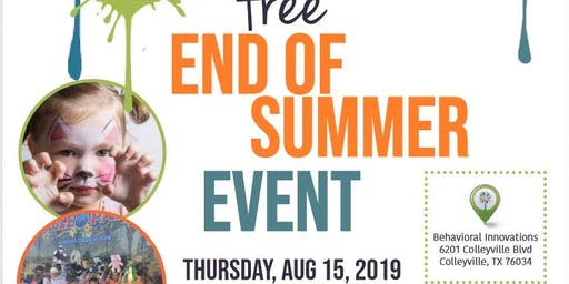 Free End of Summer Event