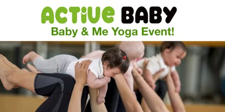 Baby & Me Yoga at Active Baby tickets