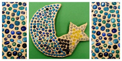 FREE TRIAL CLASS! Magical Mud Mosaics Homeschool Workshop (5-12 Years)