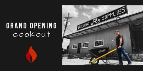 Jr Building Supplies Grand Opening tickets