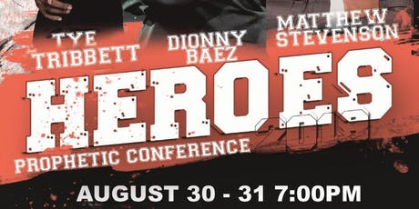 HEROES - PROPHETIC CONFERENCE tickets