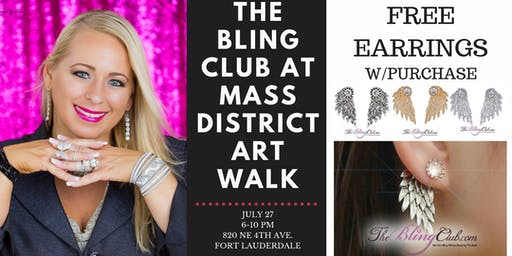 The Bling Club At MASS District Art Walk