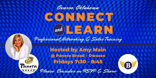 Owasso, OK: Connect & Learn | Professional Networking & Sales Training