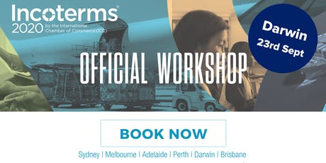 Official ICC Incoterms® 2020 Australian Workshops – DARWIN tickets