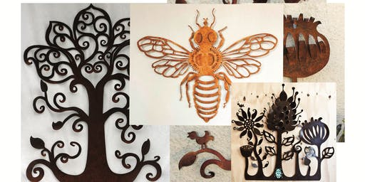 Design and Make your own Metal Wall Sculpture