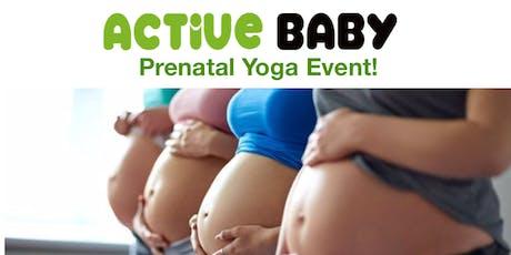 Prenatal Yoga Event at Active Baby tickets