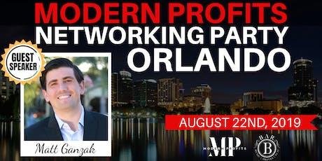 Modern Profits Networking Party (Matt Ganzak) tickets